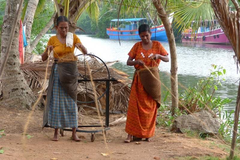 Coir Making
